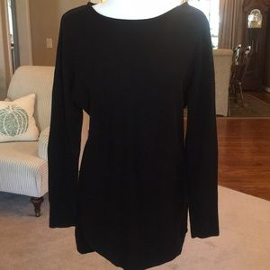 Michael Kors Black Sweater Tunic